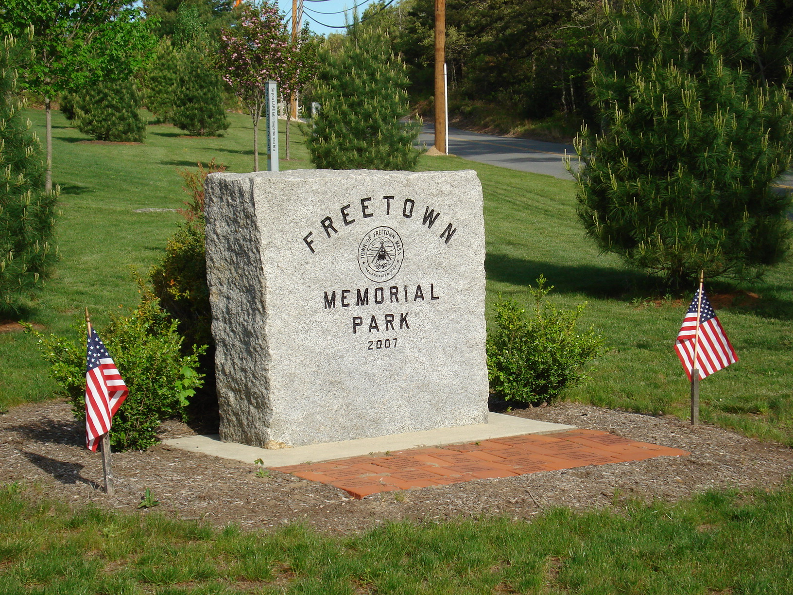 Welcome to Freetown's Memorial Park